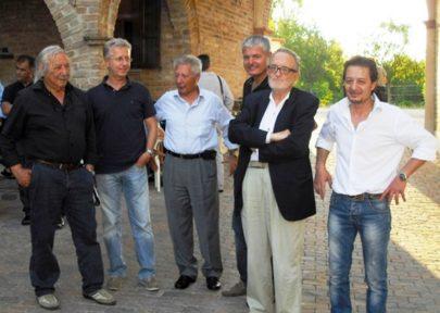 Levi con il gruppo dei sei 2012